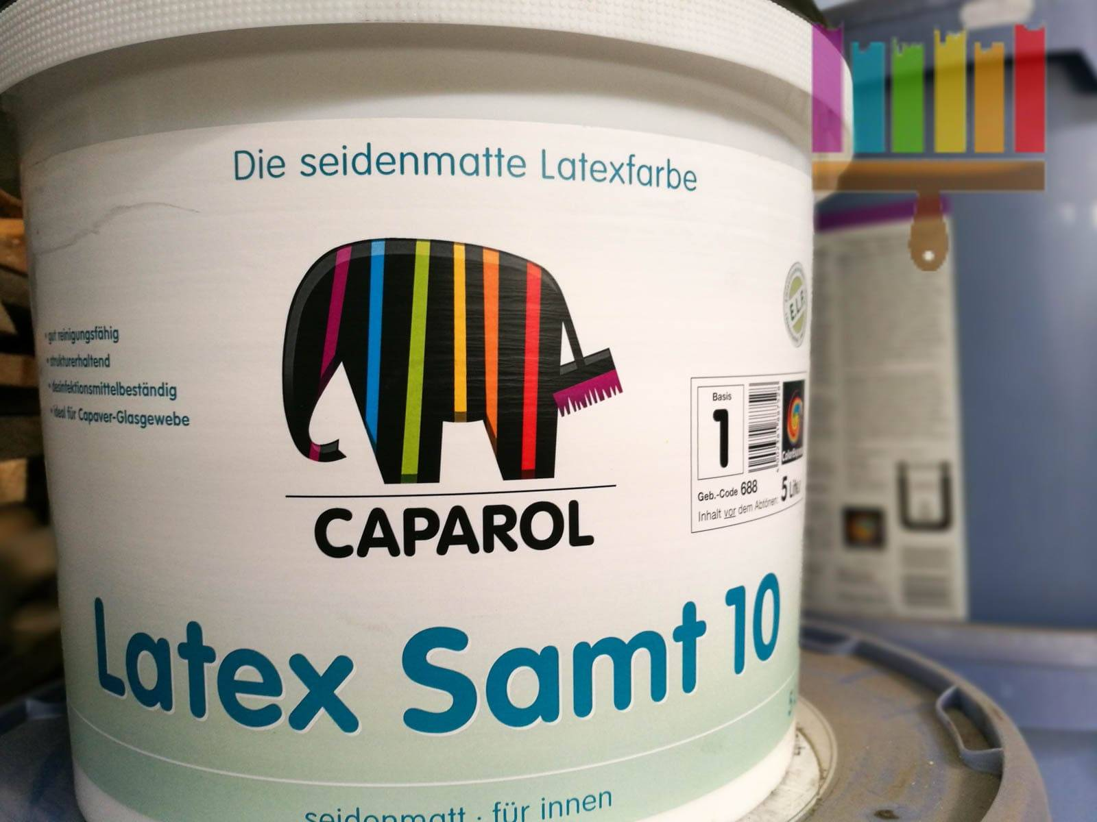 caparol latex samt 10 . Фото N3