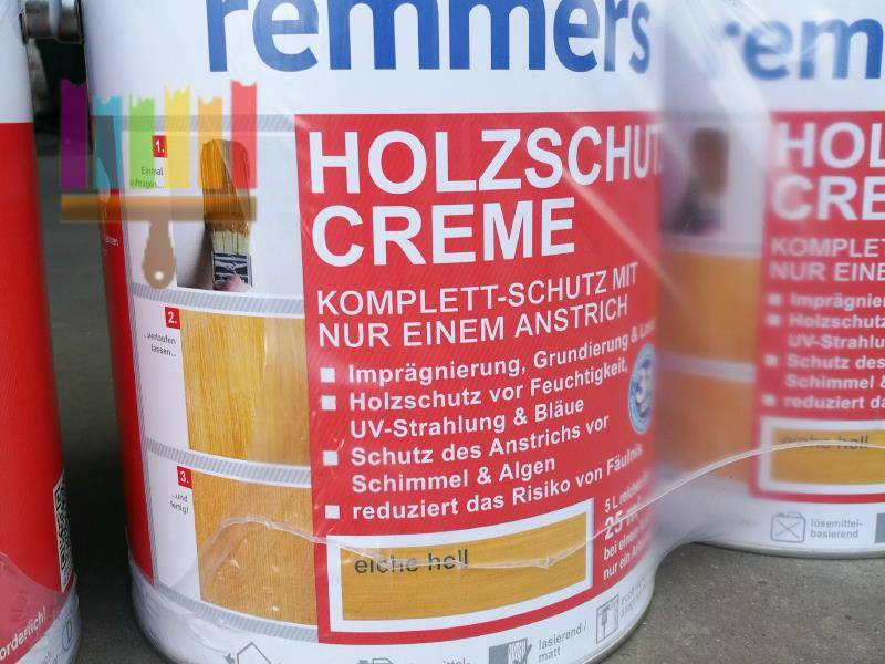 remmers holzschutz creme. Фото N3