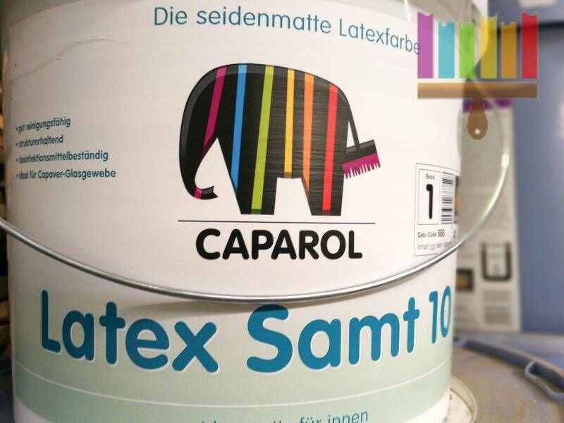 caparol latex samt 10. Фото N5