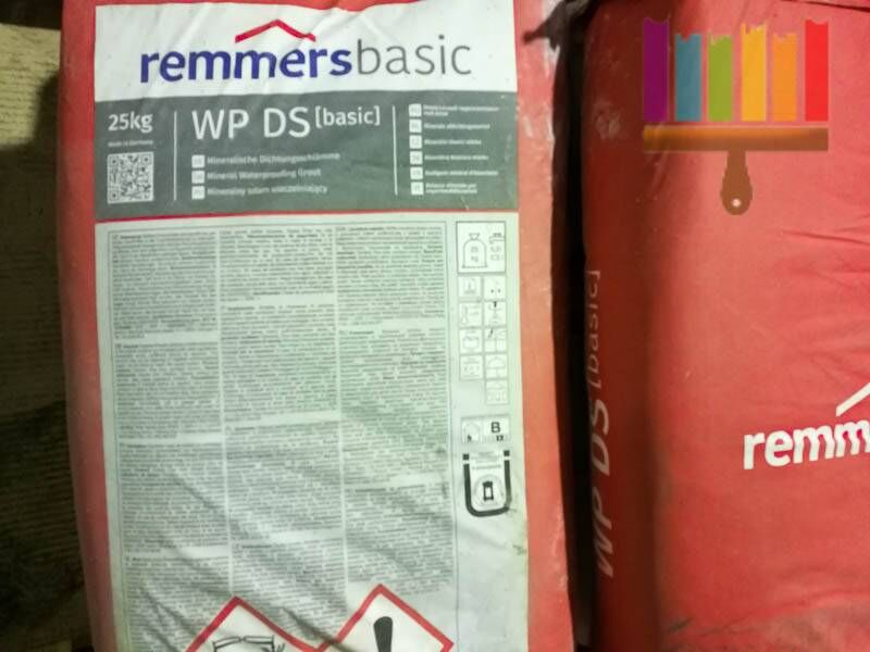 remmers wp ds basic (dichtschlamme). Фото N2