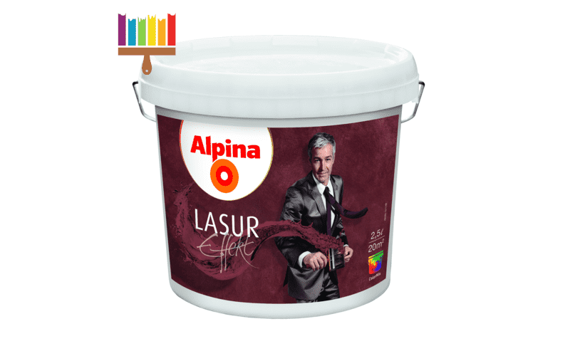 alpina effekt lasur base