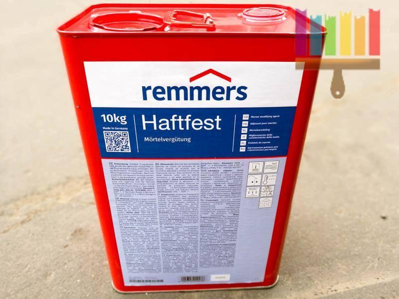Remmers ZM HFHaftfest Mörtelvergütung